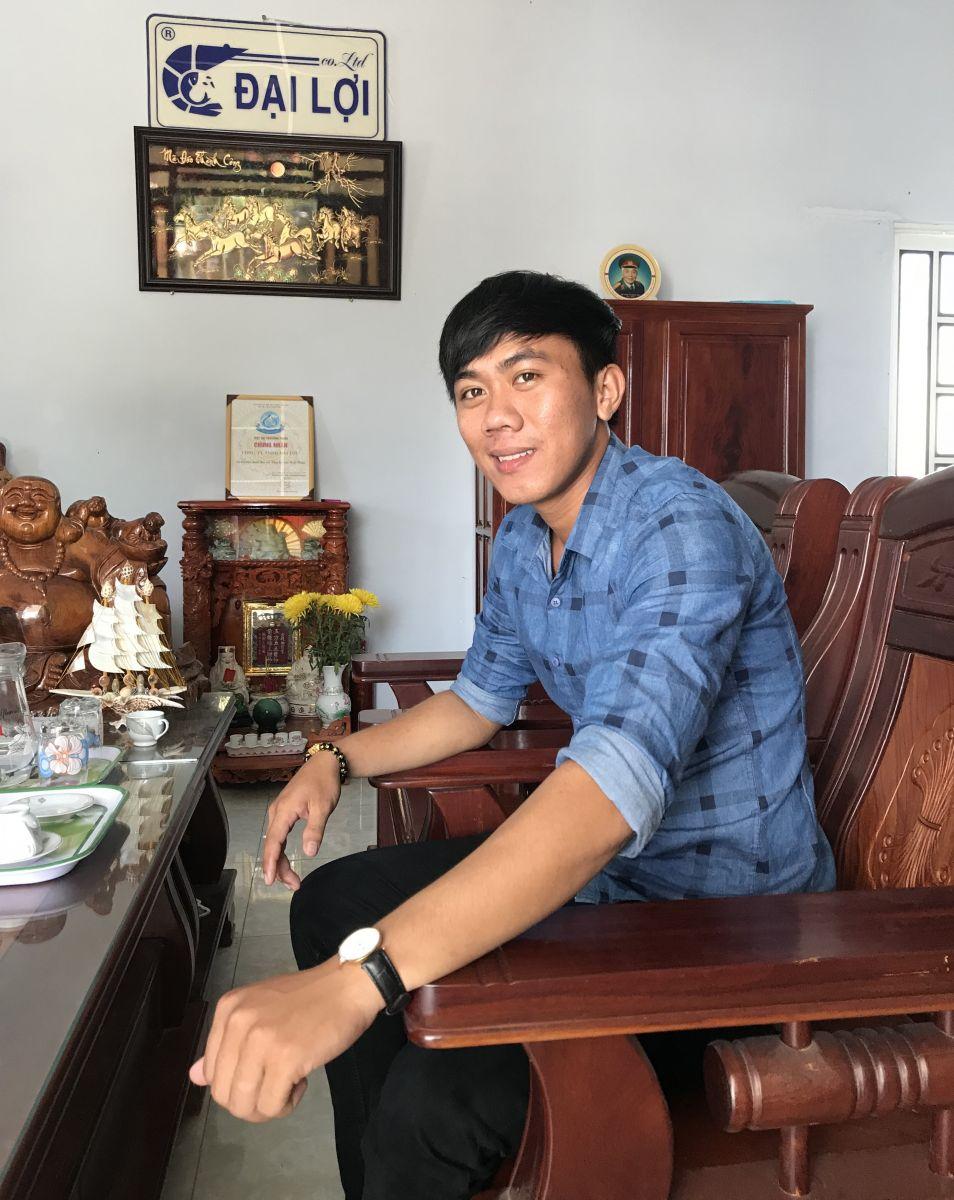 Huỳnh Hữu Tuyển - Nhân viên kinh doanh khu vực Bạc Liêu
