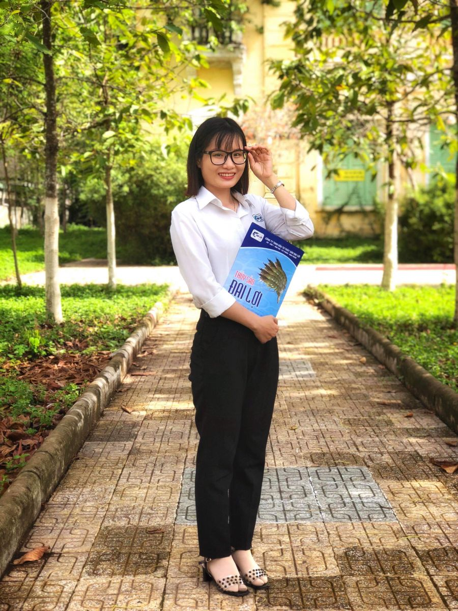 Lê Nhi - Nhân viên kinh doanh - tư vấn kỷ thuật khu vực Tiền Giang